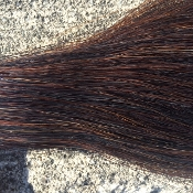 Black/Brown Mix Tail Hair
