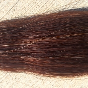 Dark Sorrel Tail Hair